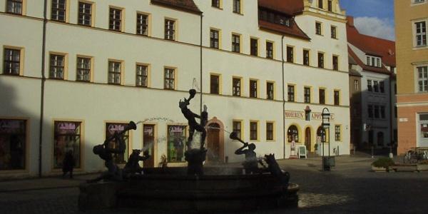 Marktplatz Torgau (Okt. 2010)