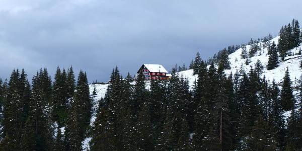 Blick auf das Neuhornbachhaus
