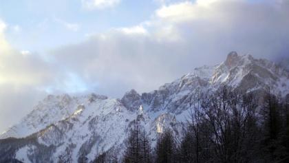 Ausblick vom Rifugio Campo Base