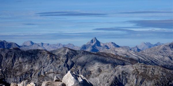 Hochkogel 2281 m mit Steinernem Meer