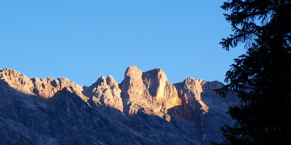 Sonnenaufgang überm Brandhorn