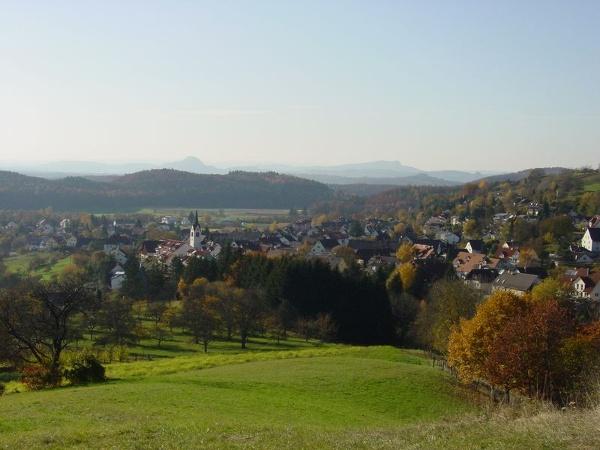 Blick auf Radolfzell-Güttingen