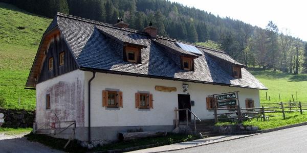 Start bei der Jausenstation Zickerreith.