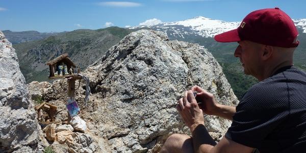 Am Gipfel des Trevenque