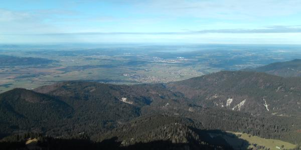 Blick zum Starnbergersee
