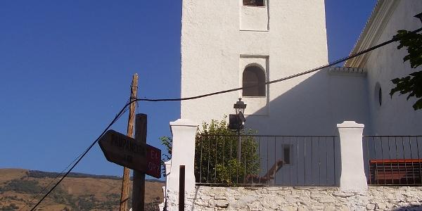 Kirche in Capileira