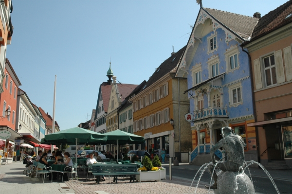 Die Altstadt von Stockach