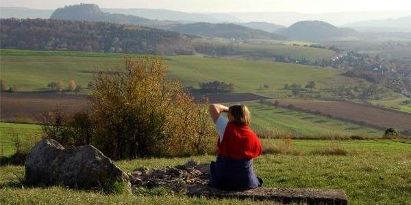 Herbstliche Ausblicke in den Hegau