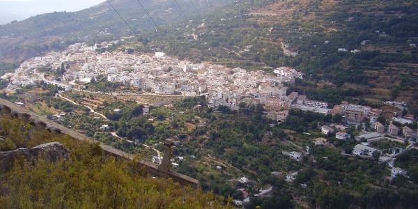 Blick auf Lanjarón