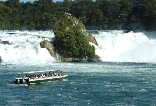 Grandioses Schauspiel des Rheinfalls