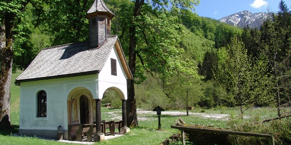 Rosaliakapelle im Bodinggraben