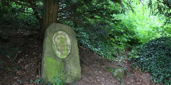 Gedenkstein für Eugen Horlacher in Calw