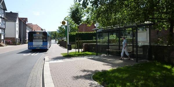 Bushaltestelle Dörnhagen-Mitte
