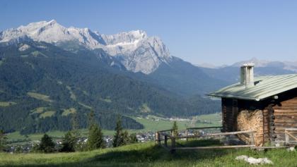 Eckenhütte über Garmisch-Partenkirchen