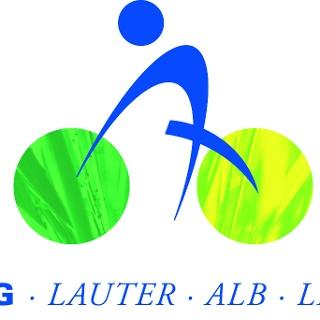 Logo Lauter-Alb-Lindach-Radweg