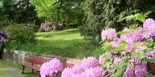 Der Park Courbevoie in Freudenstadt