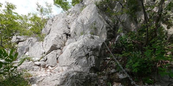 Sentiero attrezzato dei Pinzetti - Klettersteig