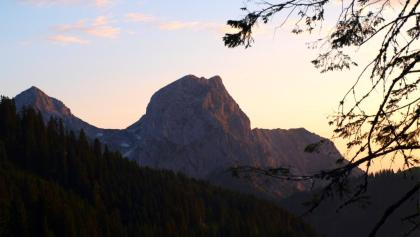 Sonnenaufgang über'm Kaiserschild