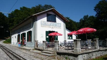 Bellavista - Mittelstation der Zahnradbahn