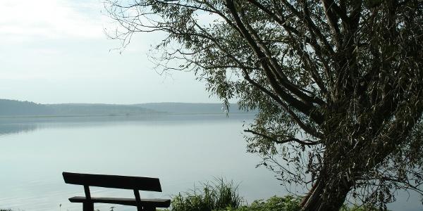 Der Krakower Obersee ist Naturschutzgebiet und bietet an seinen Ufern schöne Rastmöglichkeiten.