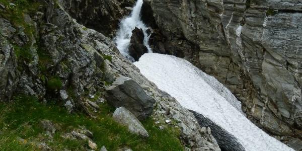 Wasserfall nahe Neubau