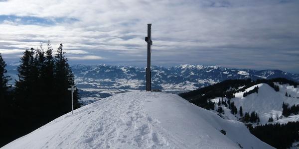 Spieser Gipfel im Winter