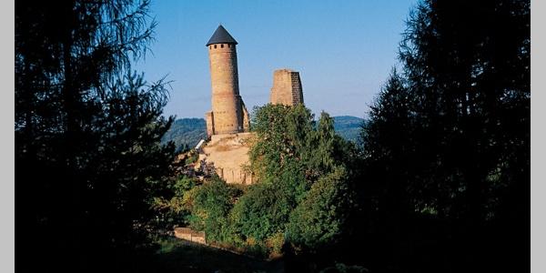 Die Kirkeler Burg.