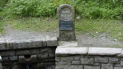 An der Ruhrquelle.