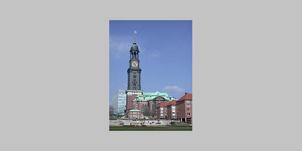"St. Michaelis Kirche (genannt ""Michel"")."