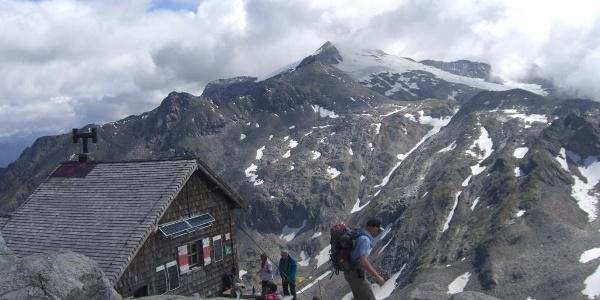 Rojacher Hütte gegen Schareck