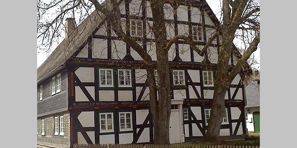 Fachwerkhaus in Küstelberg
