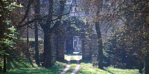 Schloss Stetteldorf Hintereingang