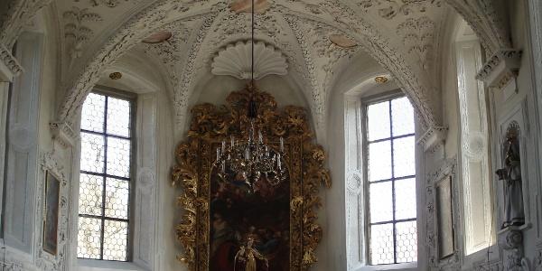 Schutzmantelkapelle in der Pfarrkirche St. Nikolaus
