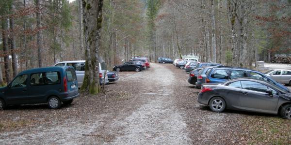 Der große Wanderparkplatz