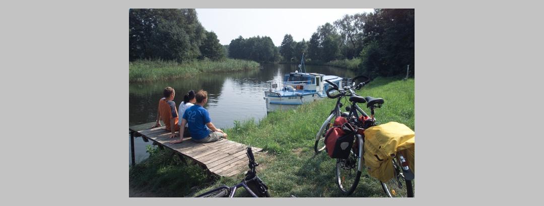 Boot oder Rad: Die Wahl fällt nicht ganz leicht.