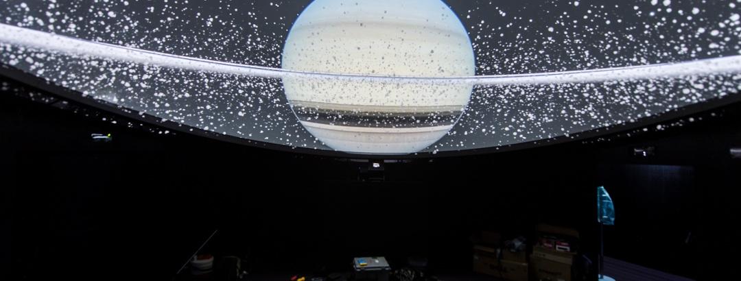 Planetarium Gummer Weltraumanimation