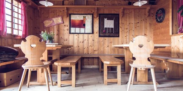 Theodor-Körner-Hütte von innen