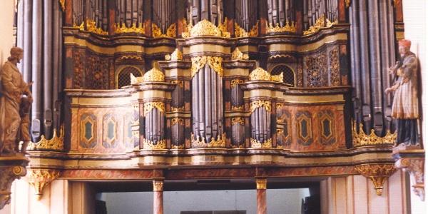 Johann Patroklus Müller Orgel in der Abteikirche