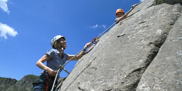 Klettersteig Kleine Scharte