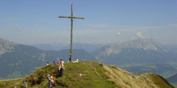 Gipfelkreuz am Kochofen
