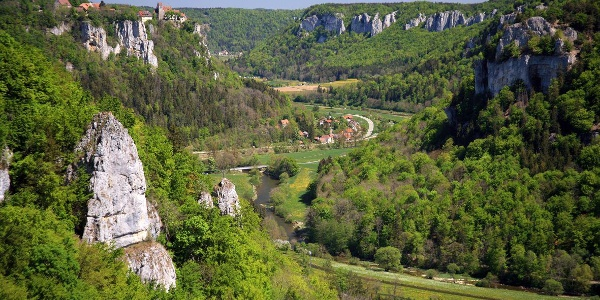 Donautal vom Eichfelsen