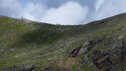 Südwest-Abstieg vom Radsattel