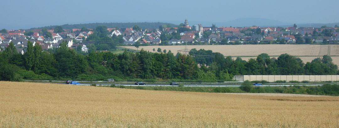 Blick auf Landwehrhagen