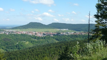 Der Blick vom Himmelstein.