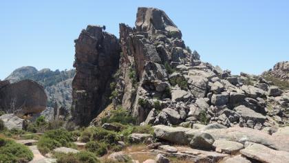Abstieg vom Capu d' Orto