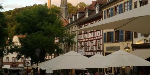 Markplatz in Bensheim