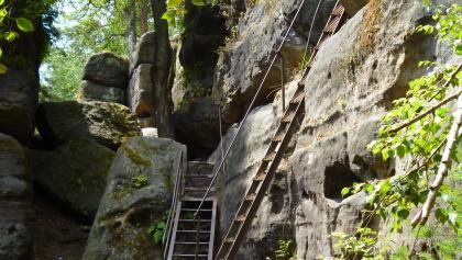 סולמות במבוך הסלעים