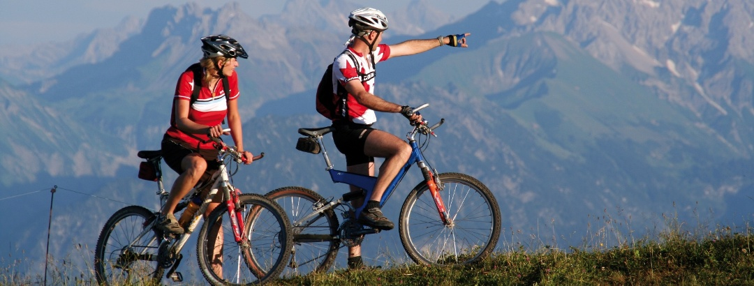 Bike, Berge, Leidenschaft - Mountainbiken.