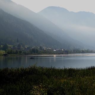 Ausblick auf den Weißensee