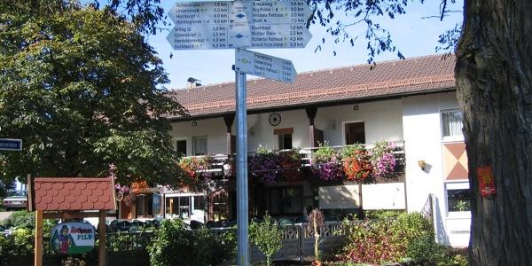 Der Berggasthof Immenstein.